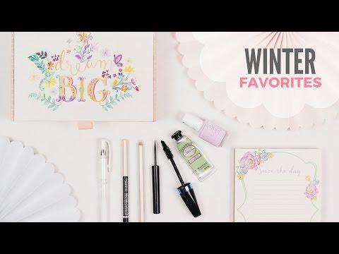 Winter Favorites   Art/Office Supplies   Beauty   Music & Good Vibes   2016