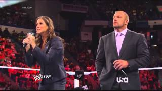 RAW 6/30/14: The Authority & John Cena Opening Segment