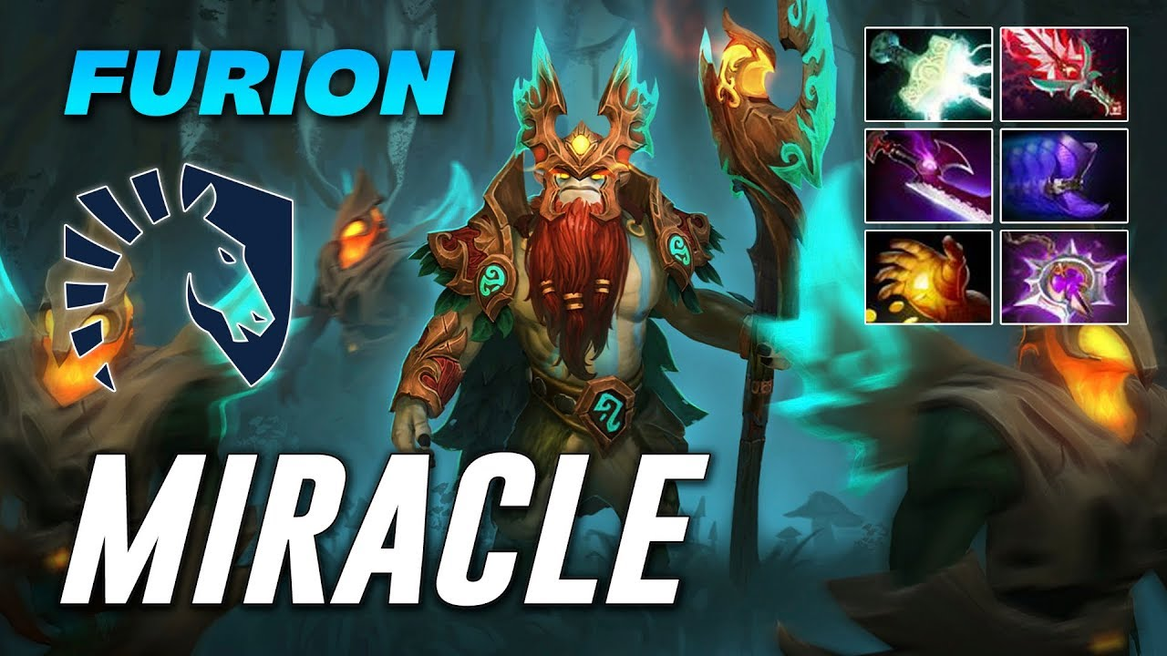 Miracle Furion Nature's Prophet | Dota 2 Pro Gameplay