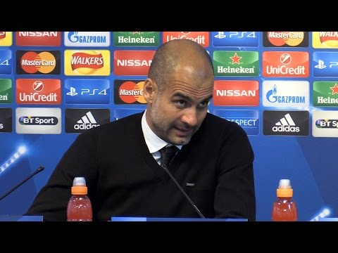 Manchester City 1-0 Steaua Bucharest (Agg 6-0) - Pep Guardiola Full Post Match Press Conference