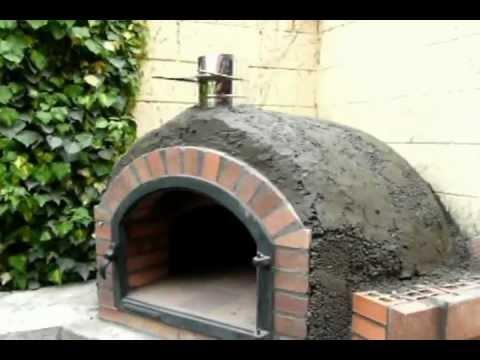 Construcci n de horno de le a 7 youtube for Horno de lena con hornilla