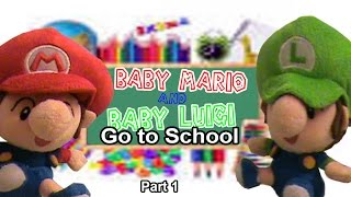 ABM Movie: Baby Mario and Baby Luigi go to school #1