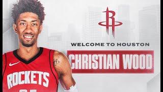 Rockets Introduce Christian Wood