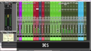 Pro Tools 12 Mixing Video Series | Part 10 | Mix Bus Processing & Final Tweeks