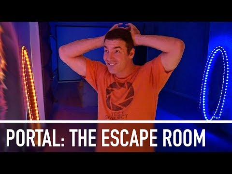 Portal: The Escape Room - ULTIMATE BIRTHDAY SURPRISE!