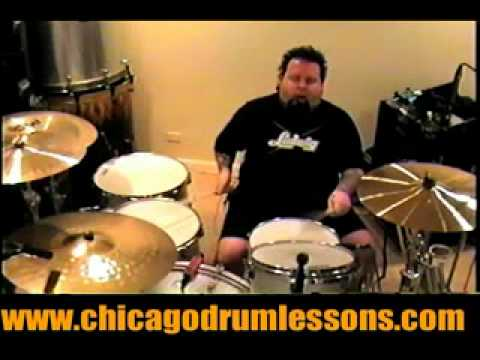 Advanced Tribal with 4/4 Triplets by: Chicago's # 1 Drum Lessons