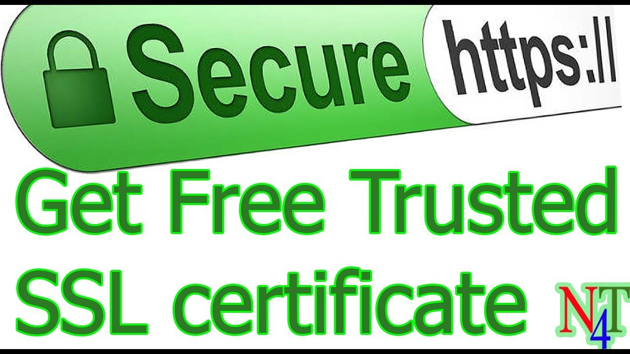 Get free trusted ssl certificate for your website youtube get free trusted ssl certificate for your website 1betcityfo Images