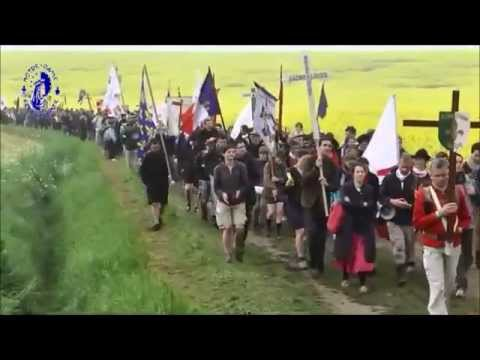 Traditional Catholics on the March (Chartres France 2013)