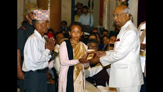 President Kovind presents Gallantry Awards