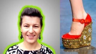 видео Модные тенденции в обуви 2015