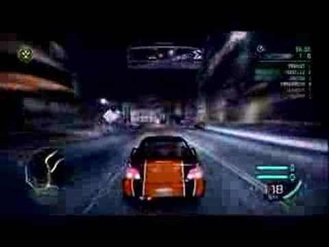 Need For Speed Carbon Track Drifting Youtube