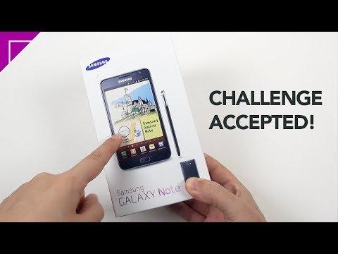Using Original Galaxy Note in 2018 || Old Smartphone Challenge!