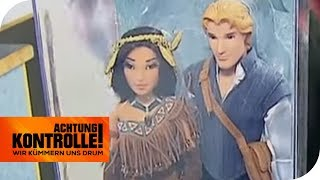 Disney-Puppe beim Zoll: Ist es ein Original? | Achtung Kontrolle  | kabel eins
