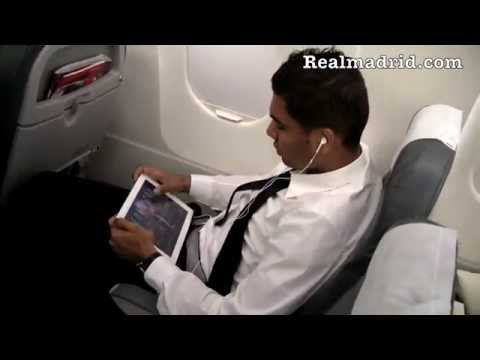 BEHIND THE SCENES: Real Madrid's flight to Munich
