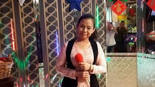 翠明小姐翻唱  北の宿から  吉幾三  志明一族 演歌秀 華王カラOK?影