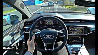Audi A7 2018 NEW POV Review and Test Drive