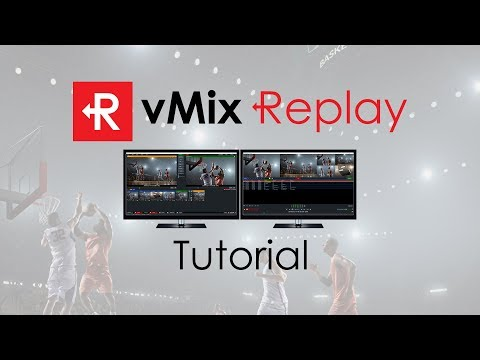 vMix Replay Tutorial. Instant Replay for your live video productions!