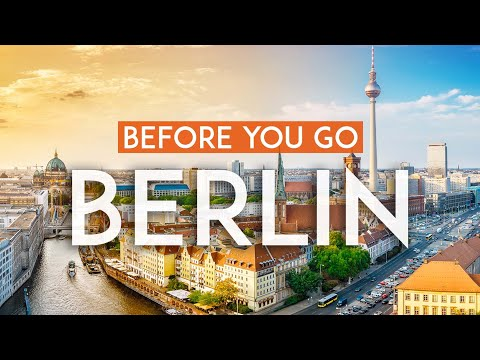 Things to know BEFORE you go to Berlin   Germany Travel Guide 4K