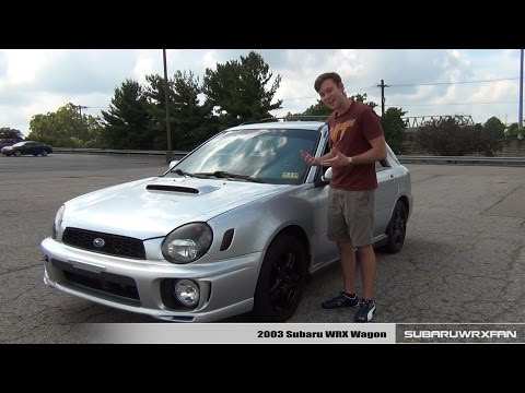 2003 subaru wrx wagon review