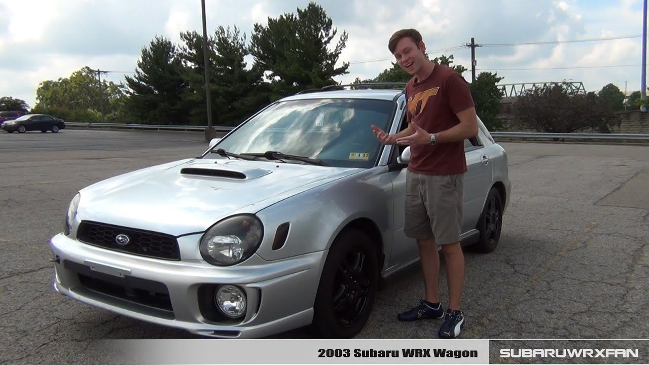 Review: 2003 Subaru WRX Wagon - YouTube