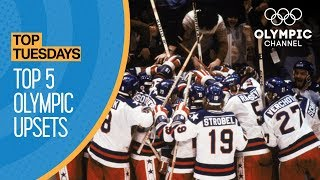 Top 5 Upsets in Olympic History | Top Moments