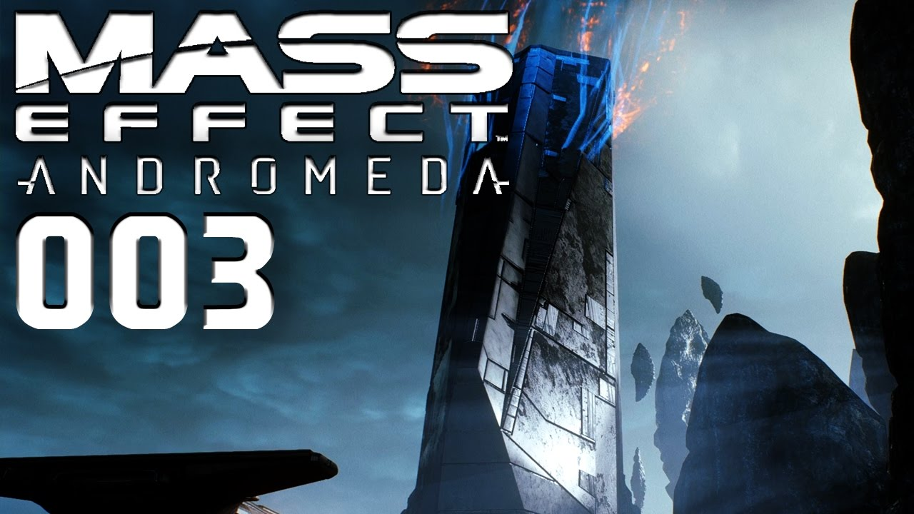 X5 Ghost Mass Effect Andromeda: MASS EFFECT: ANDROMEDA 👽 003 • PROBLEMBEKÄMPFUNG