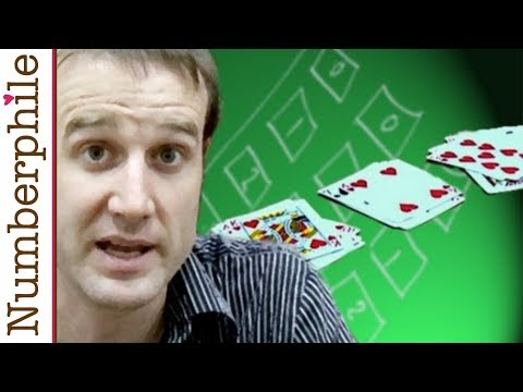 Beautiful Card Trick - Numberphile
