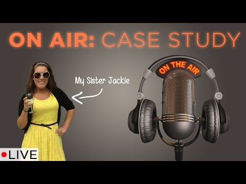 On Air Case Study: My Sister Jackie   LIVE!