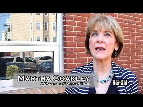 Martha Coakley A Day on Campaign Trail Mass. Governor Race