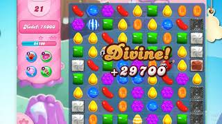 Candy Crush Saga on Facebook level 144,Game