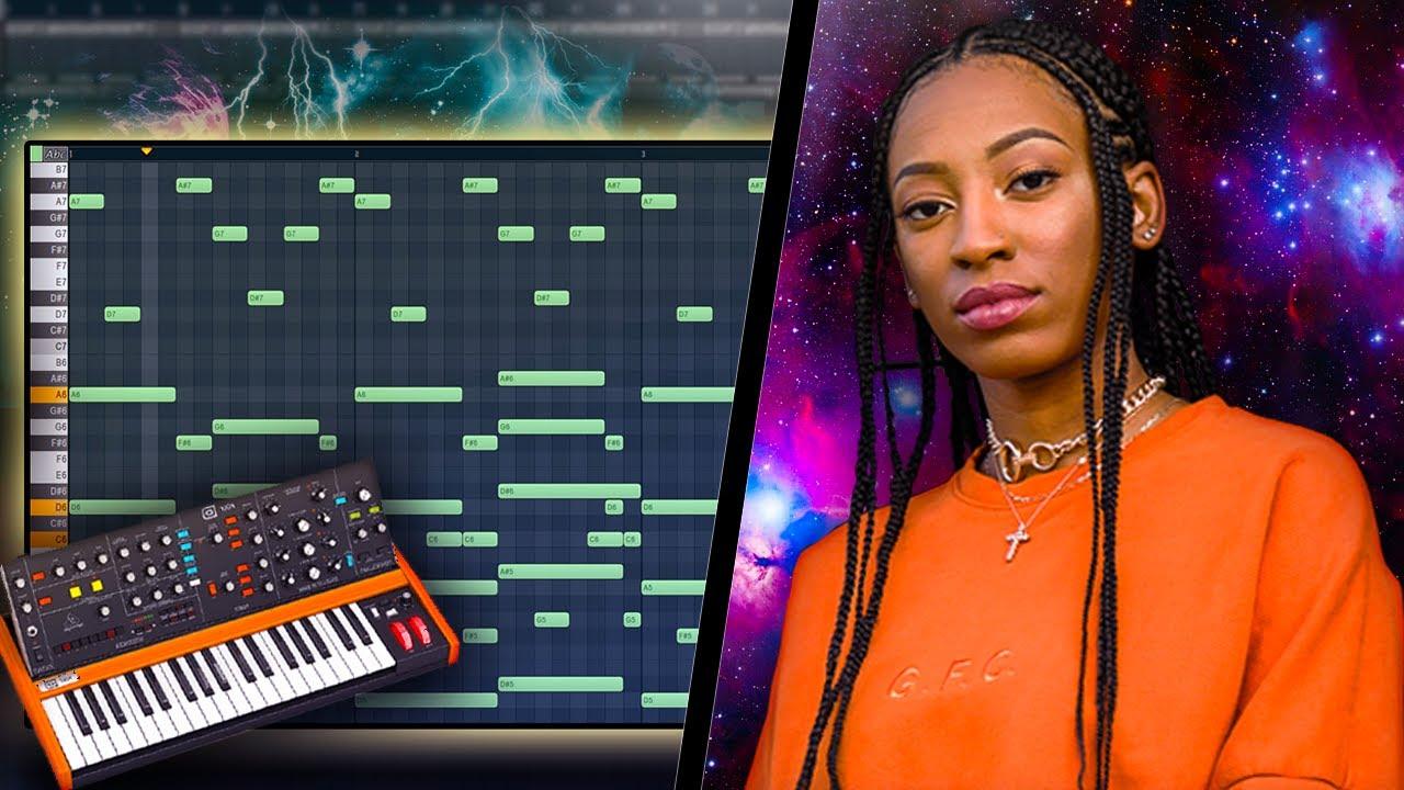 Download How Wondagurl Makes Her Signature Melodies | Fl Studio
