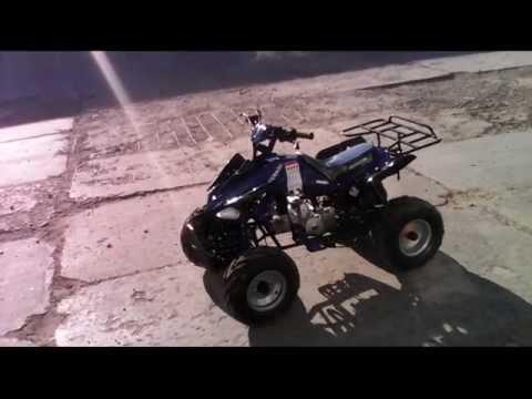 Обзор детского квадроцикла Avantis Mirage-8 (125cc)
