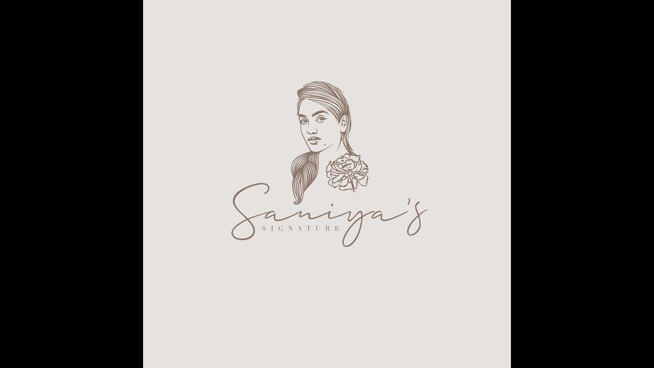 SANIYA'S SIGNATURE | LOGO LAUNCH | SANIYA IYAPPAN