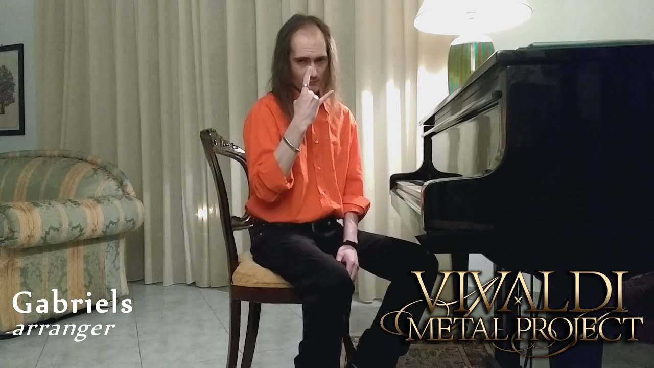 "Gabriels presents his arrangement on Chopin's ""Revolutionary Etude"""