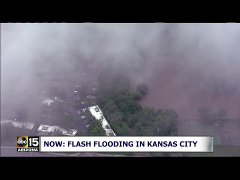 NOW: Flash flooding in the Kansas City area.