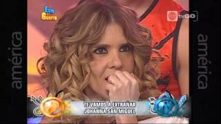 Mira la emotiva despedida de Johanna San Miguel - Esto es Guerra - 08/05/2015