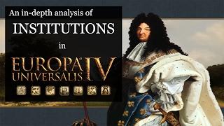 [EU4] In-Depth Analysis of Institutions