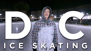 Ice Skating in Washington D.C. | Vlog