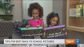 BACK TO SCHOOL: Tips for the best back to school pictures