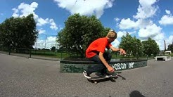 Skateboarding in Turku/Kaarina, Finland