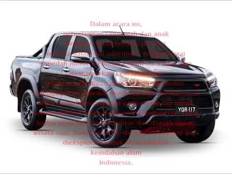 Ring of Fire Adventure Bersama Toyota Hilux
