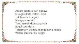 KRU Negatif Lyrics