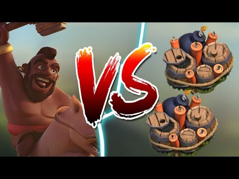 Clash Of Clans | Hogs vs Double Giant Bomb | Pigs are OP After Update