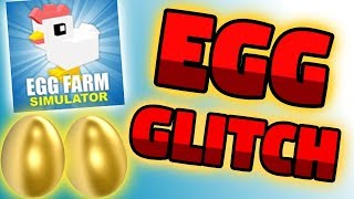 EGG FARM SIMULATOR ROBLOX - Free Egg Glitch