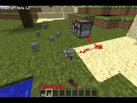 Minecraft - Dispenser recipe