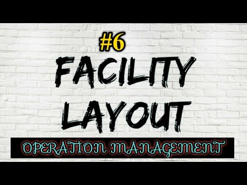 #6 OPERATION MANAGEMENT|FACILITY LAYOUT|PLANT LAYOUT|STUDY N