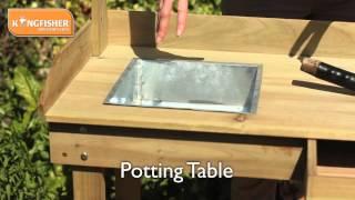 Kingfisher Potting Table