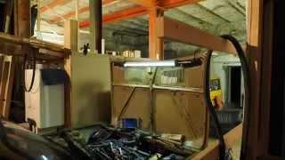 Zastava engine pull @ finalgear garage meet (Oct. 2014)