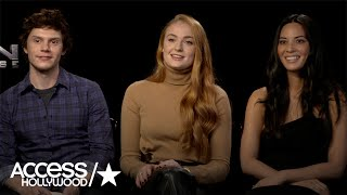 Evan Peters, Sophie Turner & Olivia Munn On The 'X-Women' Of 'X-Men: Apocalypse'