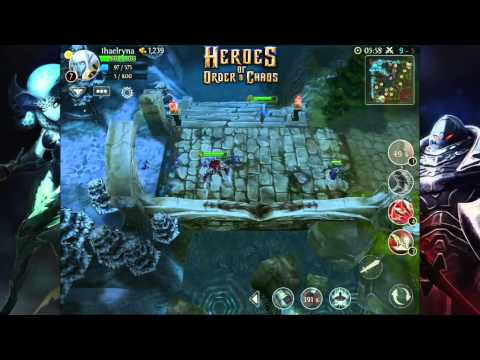 Heroes Of Order And Chaos | Elf Gameplay [HD]